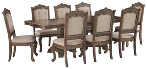 Charmond Signature Design 9-Piece Dining Room Set