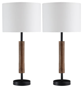 Maliny Signature Design by Ashley Table Lamp Pair