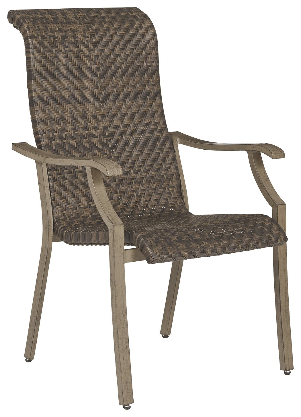 Windon Barn Signature Design by Ashley Outdoor Dining Chair Set of 4