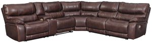 Muirfield Benchcraft 3-Piece Power Reclining Sectional