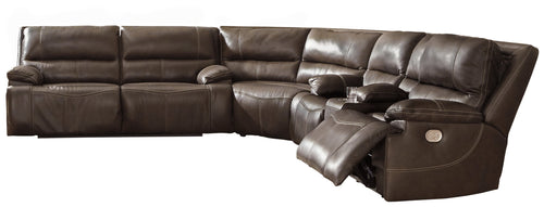 Ricmen Signature Design by Ashley 3-Piece Power Reclining Sectional