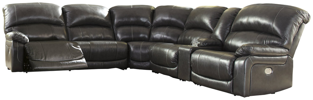 Hallstrung Signature Design by Ashley 6-Piece Power Reclining Sectional