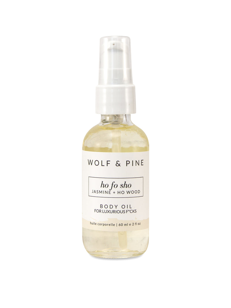 Ho Fo Sho - Body Oil - Wolf & Pine Herbals