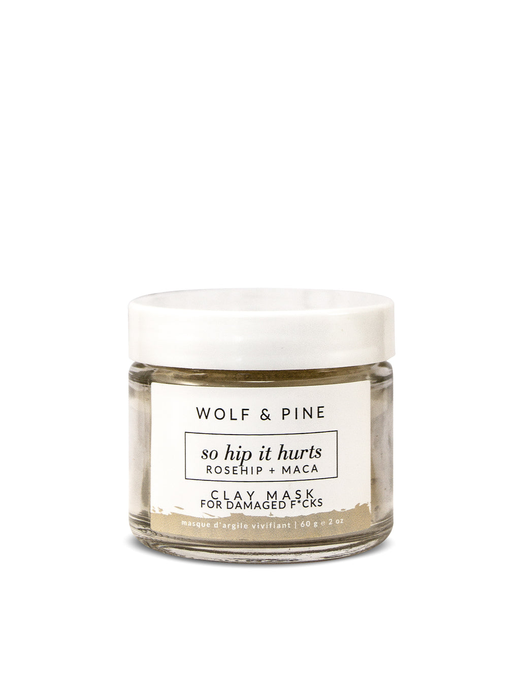 So Hip it Hurts - Clay Mask - Wolf & Pine Herbals