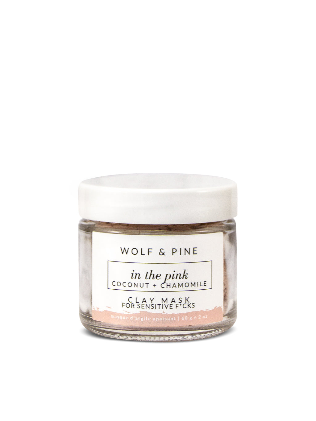 In the Pink - Clay Mask - Wolf & Pine Herbals