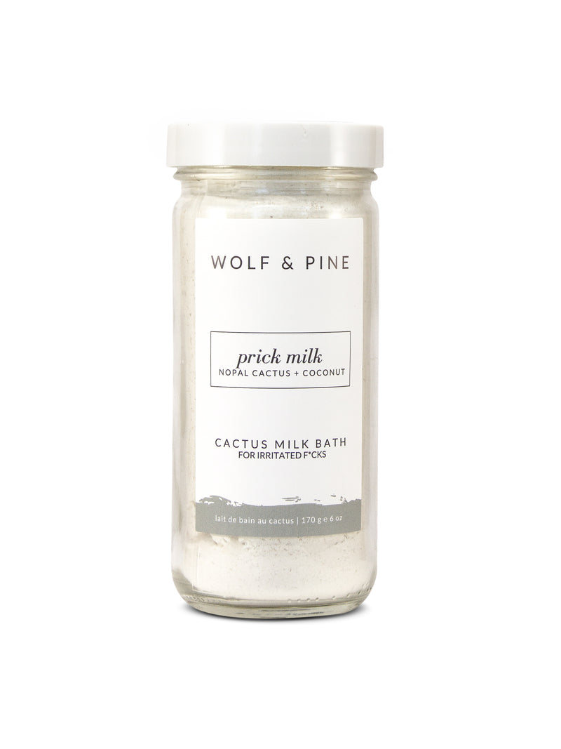Prick Milk - Cactus Milk Bath - Wolf & Pine Herbals