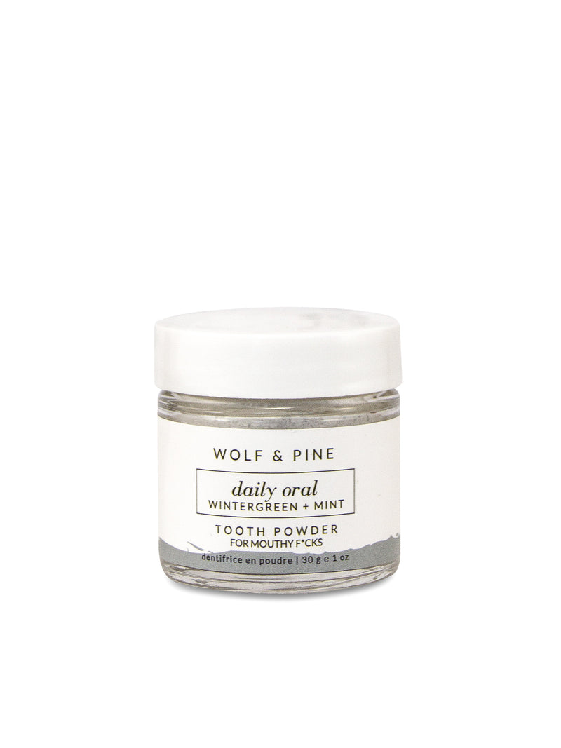 Daily Oral - Tooth Powder - Wolf & Pine Herbals