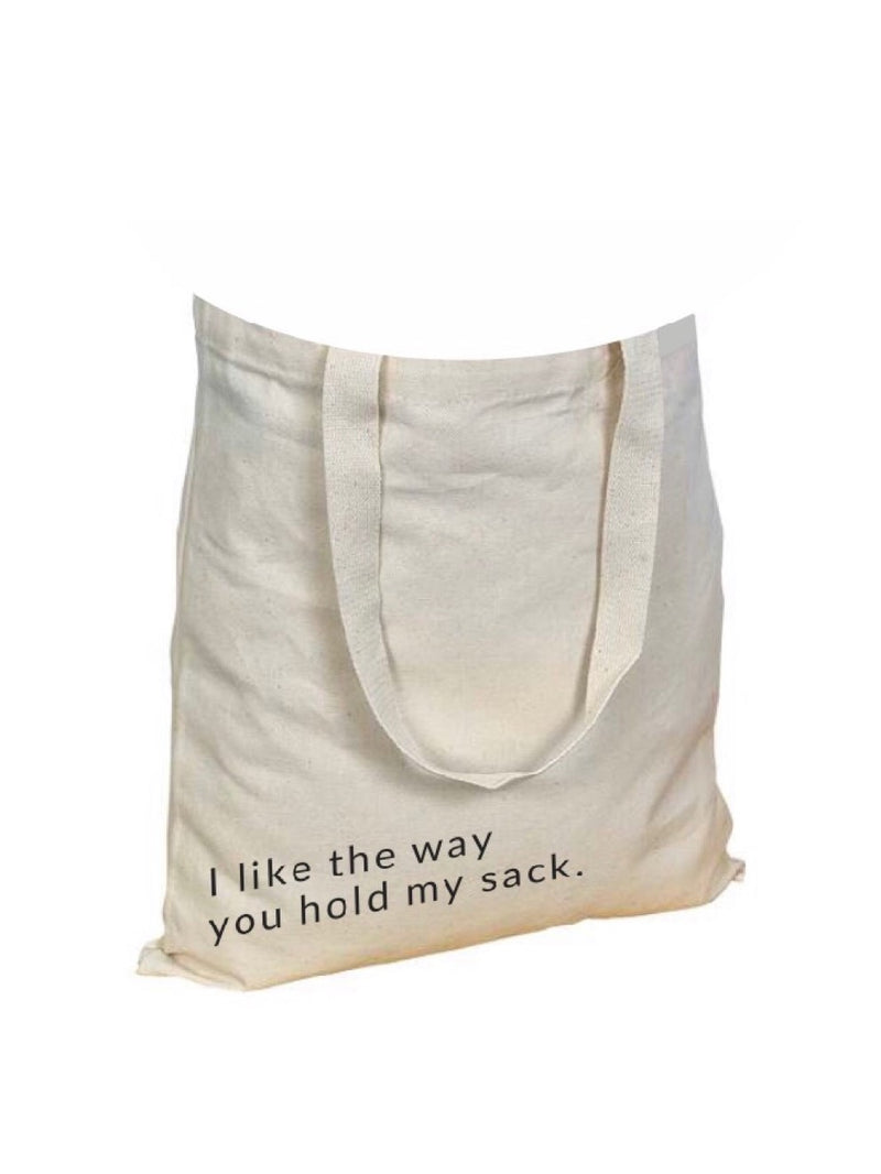 Hold My Sack - Canvas Tote