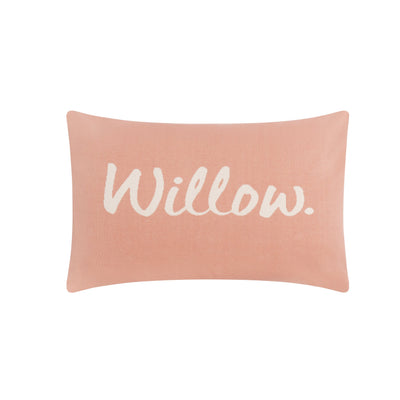 English Rose & Coconut Name Pillowcase