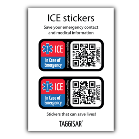 ICE Stickers 2 Pack