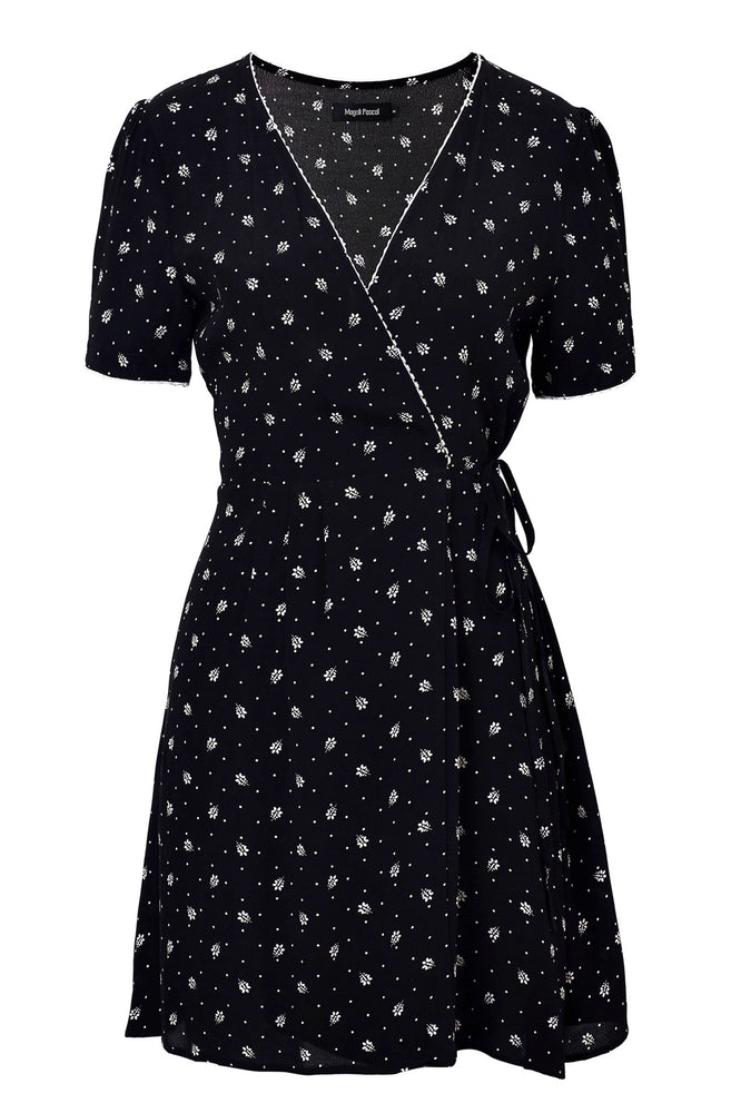 Marceau Mini Wrap Dress