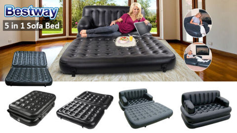 5 In 1 Inflatable Sofa Air Bed Couch Bestdealphil
