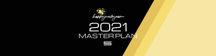 Happy New Year + 2021 Master Plan