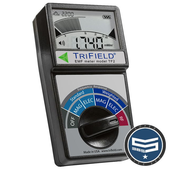 TriField EMF Meter TF2 Model 100XE - RENTAL