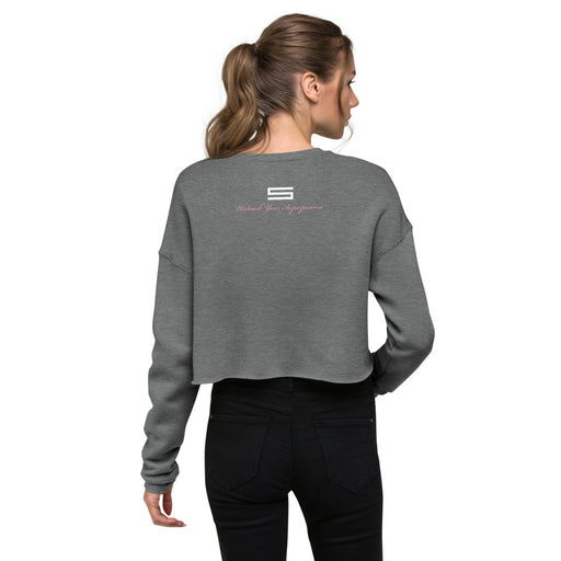 Unleash Your Superpowers Women's Crop Sweatshirt