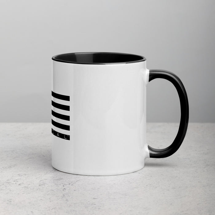 SUPER TACTICAL™ Ceramic Mug with Color Inside