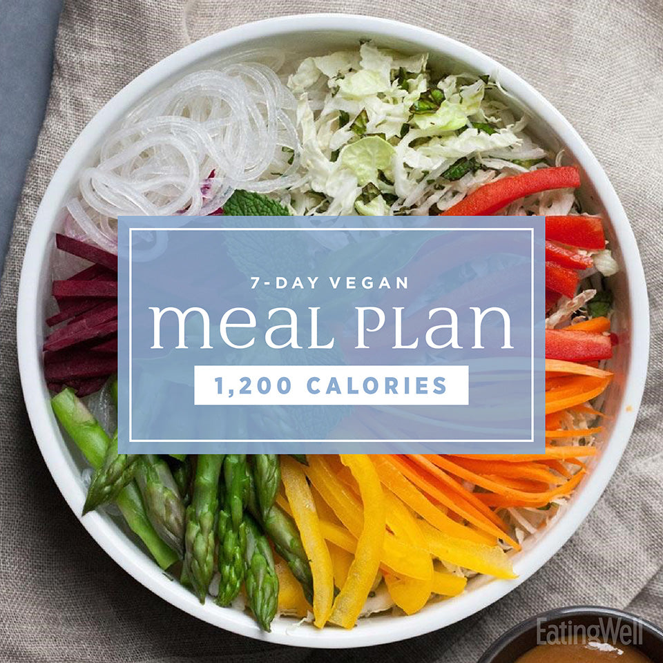 1200 Calorie Vegetarian Meal Plan ~ Solution For About ...