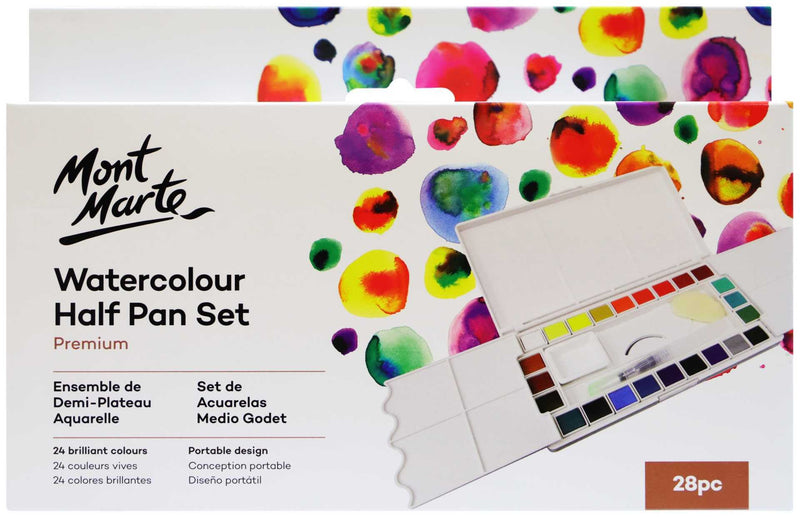 Watercolour Half Pan Set 28