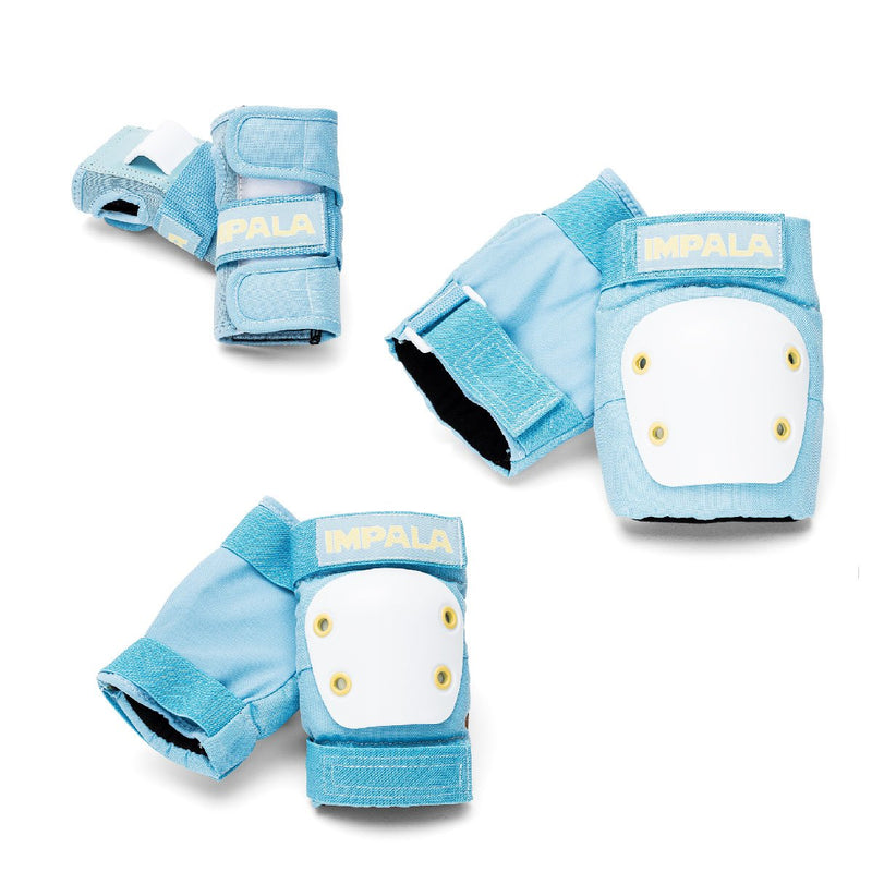 Protective Set Youth - Small Blue