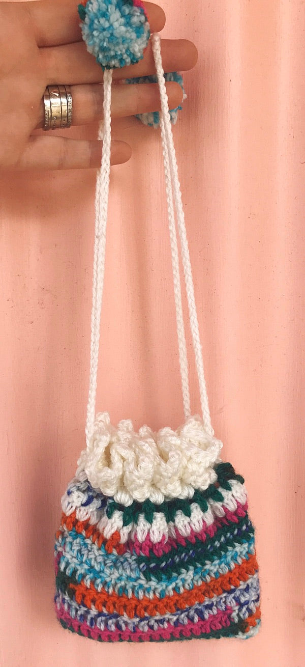 Crochet Doll Bag