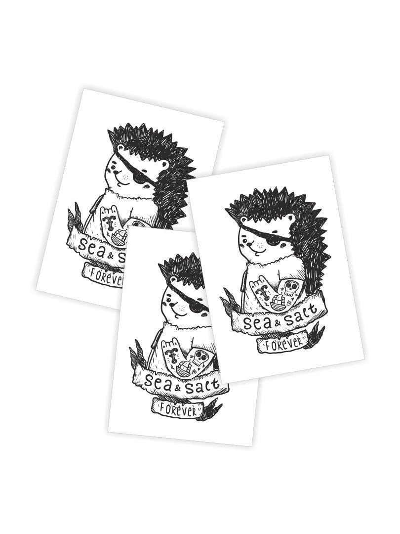 Tattoos-Pirate Hedgehog