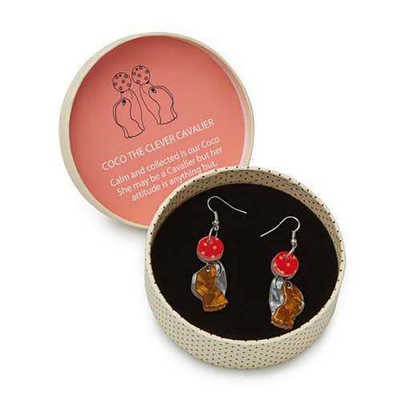 Coco The Clever Cavalier Earrings