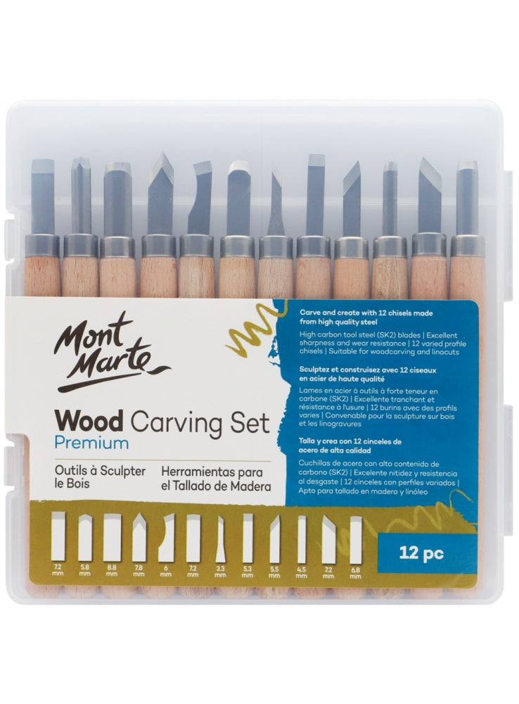 Wood Carving Set 12pc