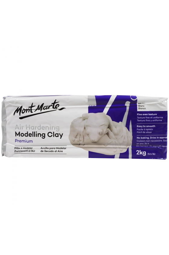 Air Dry Clay White 2kg