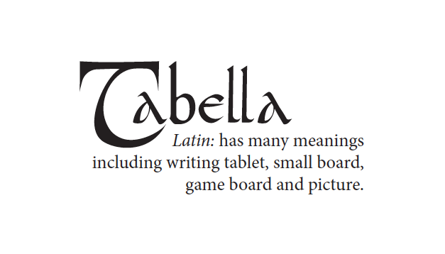 Tabella Story Cards
