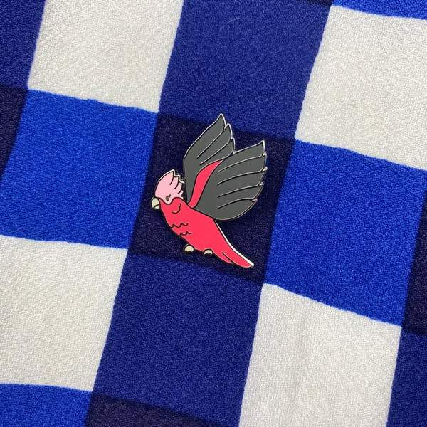 Girlberta Galah Pin