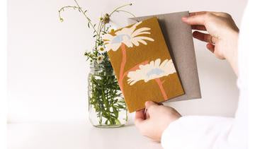 Plantable Card-Two Wildflowers