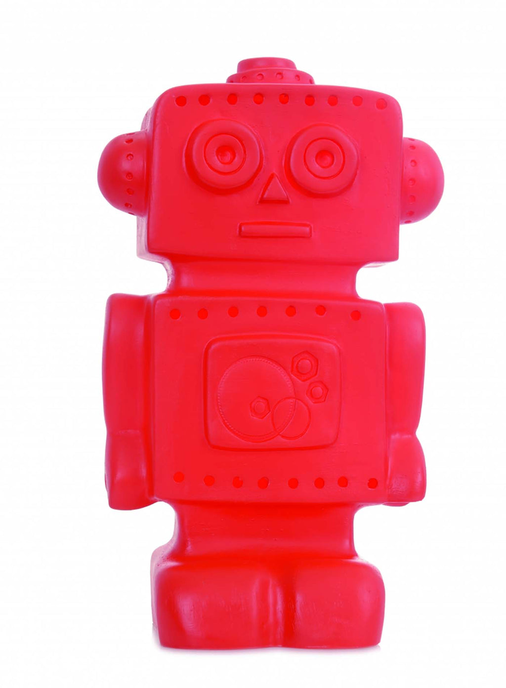 Heico Robot Lamp Red