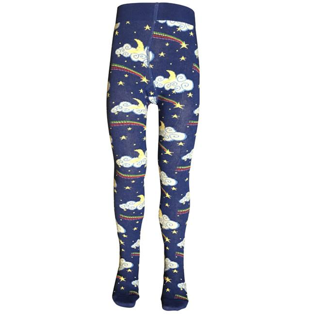 Slugs and Snails Tights - Moon and Shooting Star