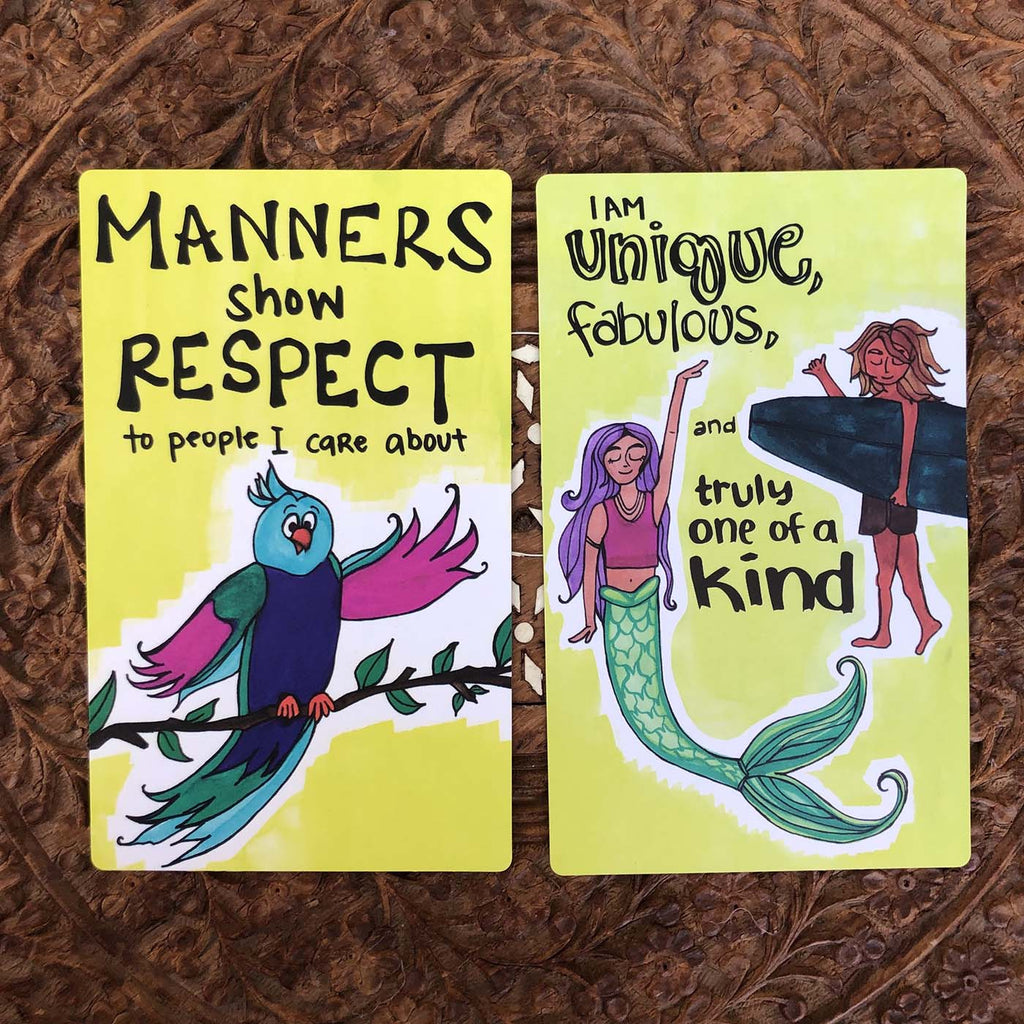 Renegade Mama Kids Affirmation Cards