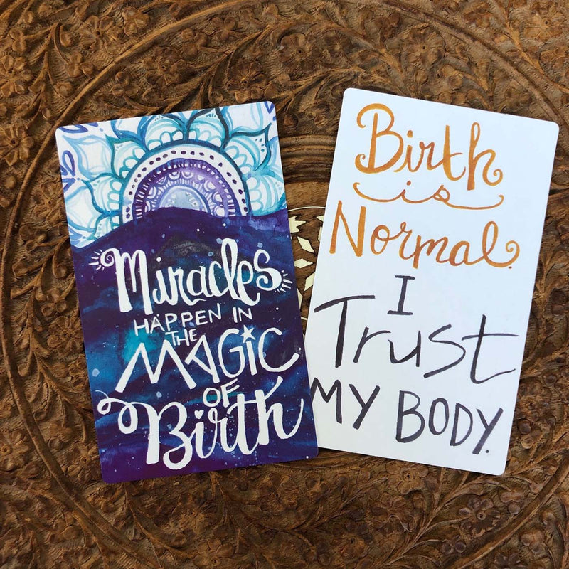 Renegade Mama Pregnancy Affirmation Cards