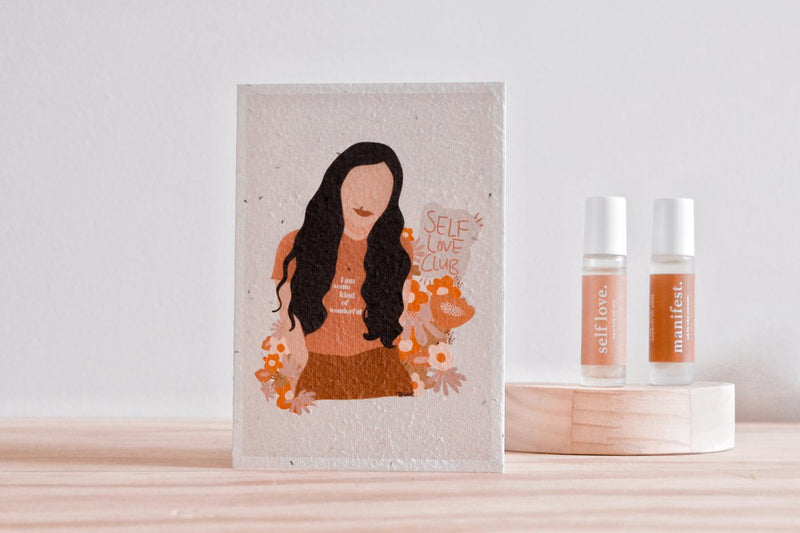 Plantable Card-Self Love Club