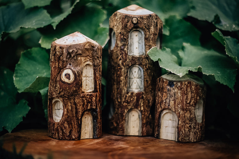 Tree Houses Set of 3