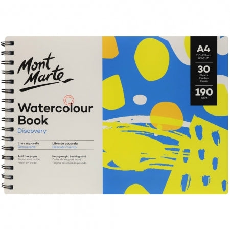 Water Colour Book A4
