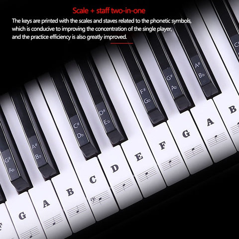Image of Piano Key Stickers