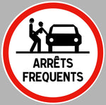 ATTENTION ARRETS FREQUENTS AA154