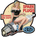 PINUP BOUGIE SPARK PLUGS RETRO PC015G