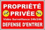 PROPRIETE PRIVEE DEFENSE D'ENTRER PB500