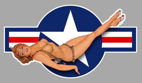 US ARMY NAVY USA PINUP PC037