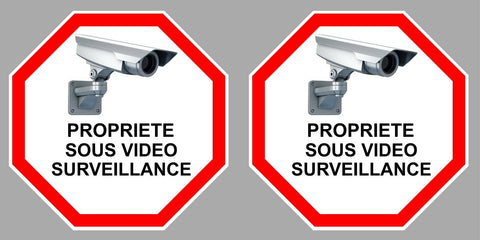 2 X VIDEO SURVEILLANCE PROPRIETE VA095