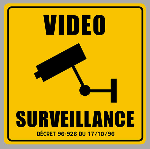VIDEO SURVEILLANCE PROPRIETE VA093