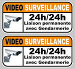 2 X VIDEO SURVEILLANCE VA047