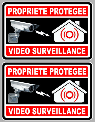 2 x VIDEO SURVEILLANCE VA050