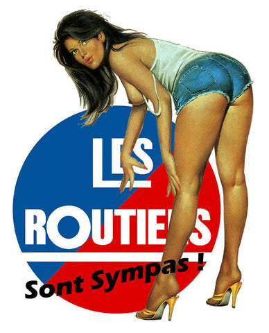 LES ROUTIERS PINUP SEXY RA127