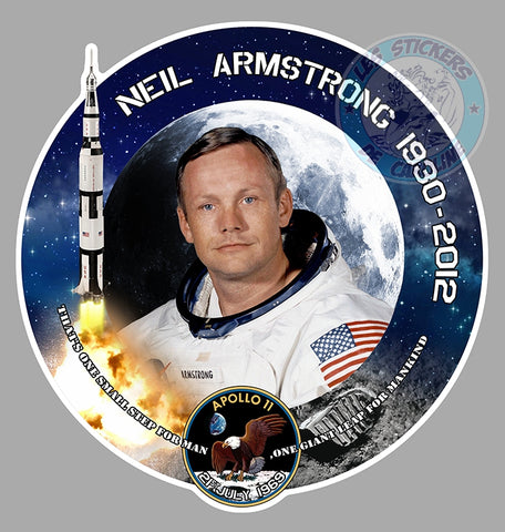 APOLLO 11 NEIL ARMSTRONG NASA AB187
