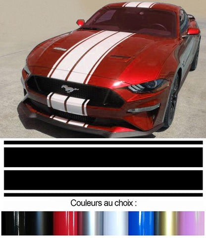 BANDES TOIT CAPOT FORD MUSTANG BD408-3